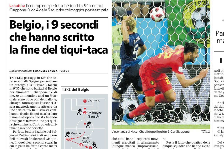 「9秒カウンター」を延々と議論。イタリアは日本の悲劇にも学ぶ | footballista | フットボリスタ