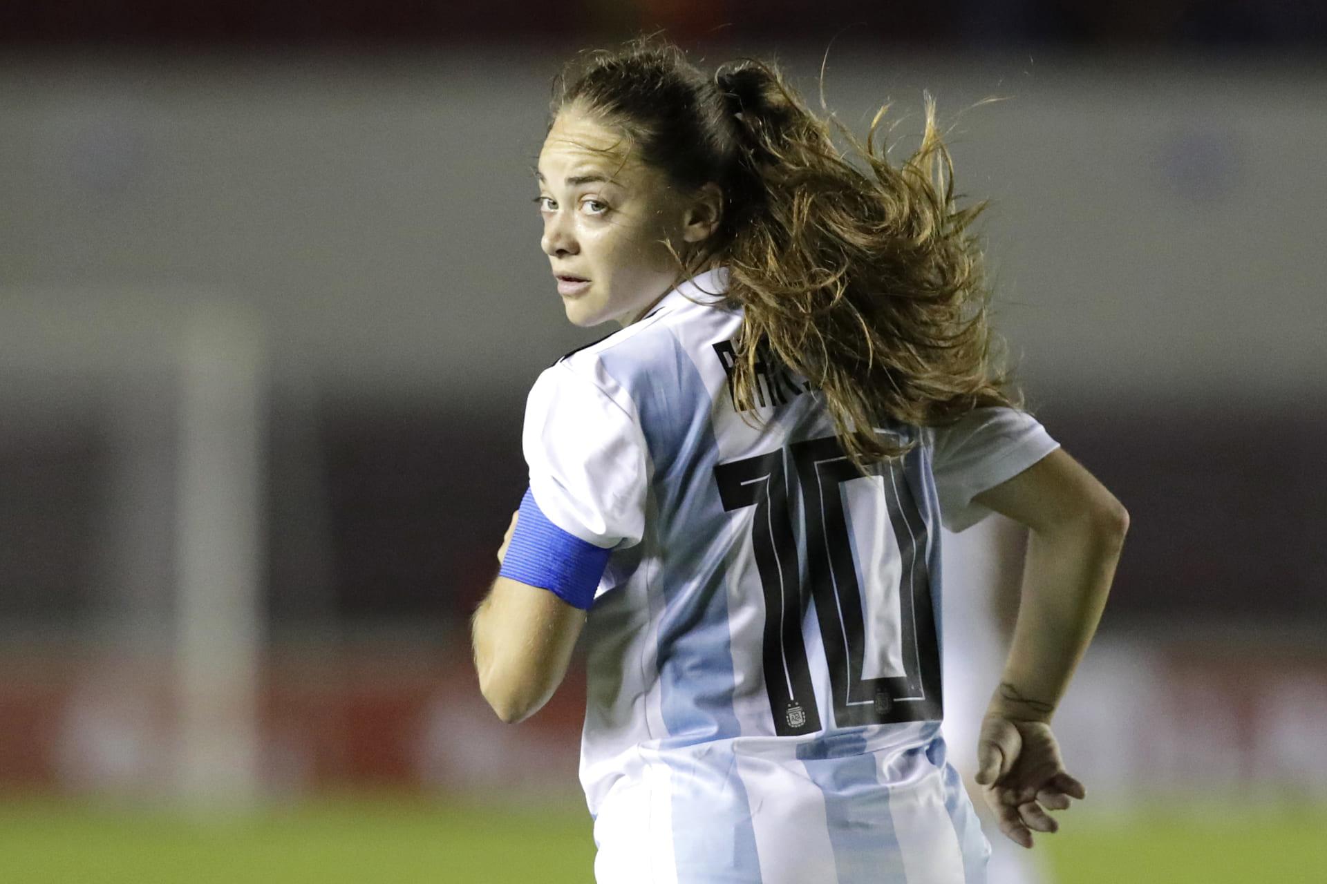 アルゼンチン女子代表のキャプテン、エスタファニア・バニーニ