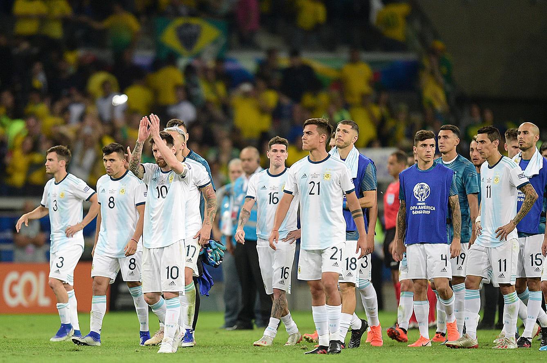 コパ・アメリカ2019の準決勝で敗れたアルゼンチン代表