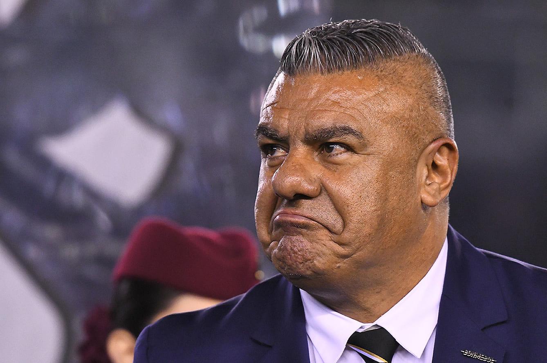 アルゼンチンサッカー協会のクラウディオ・タピア会長