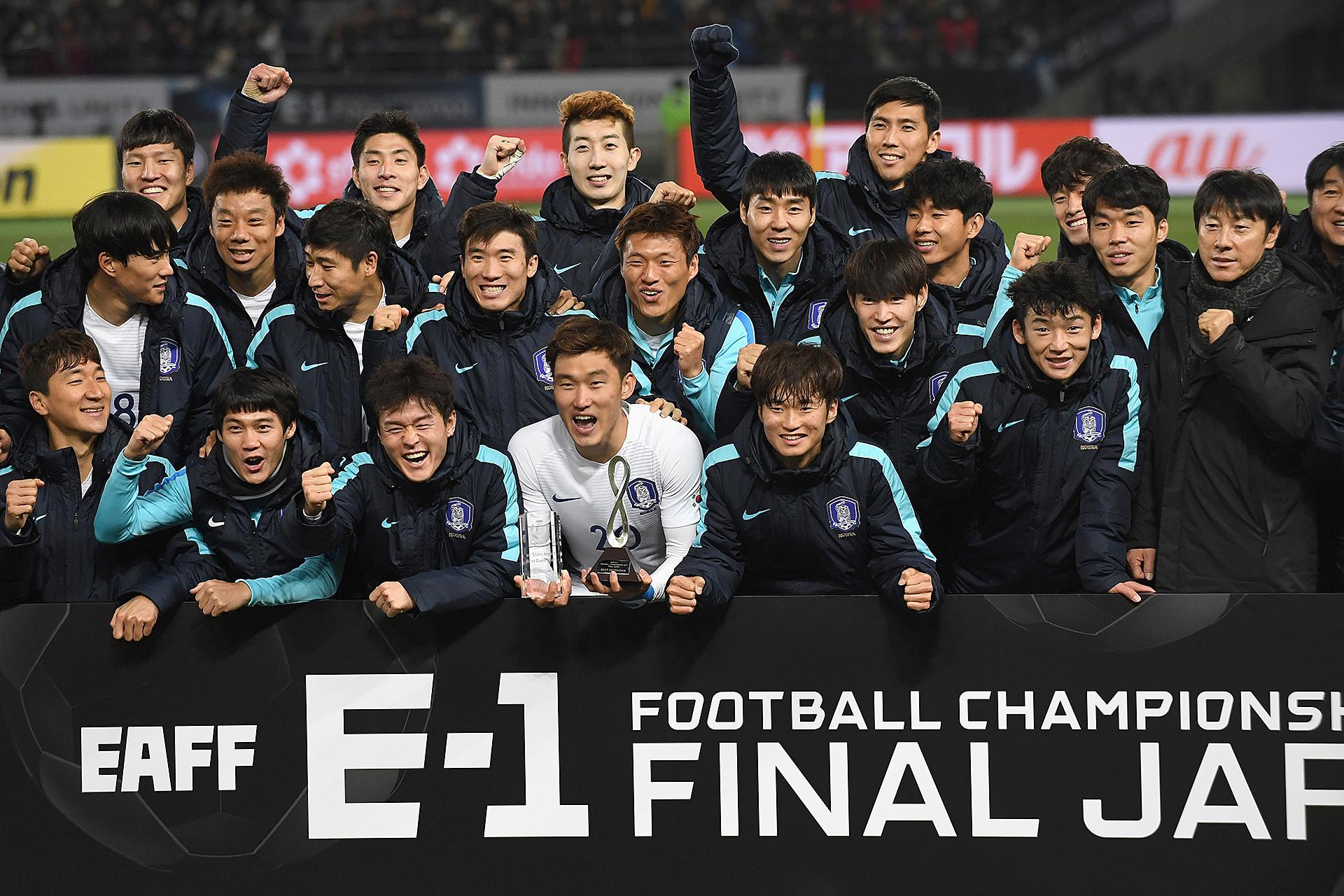 2017年のE-1を制した韓国チーム